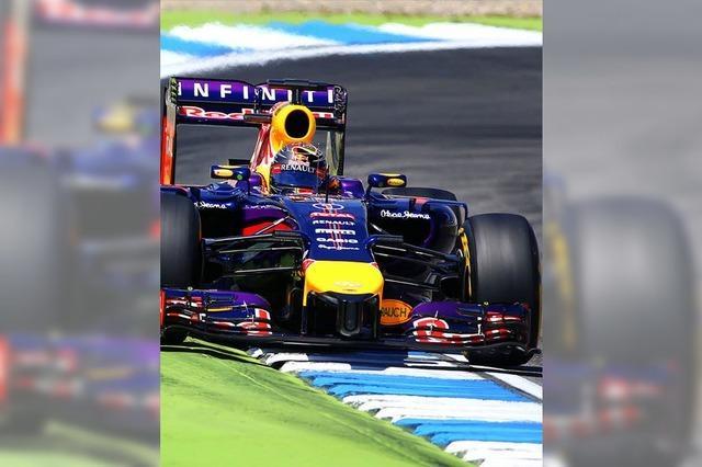 Vettel muss den Fuß vom Gas nehmen