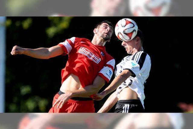Der SC Freiburg spielt 1:1 gegen Aalen