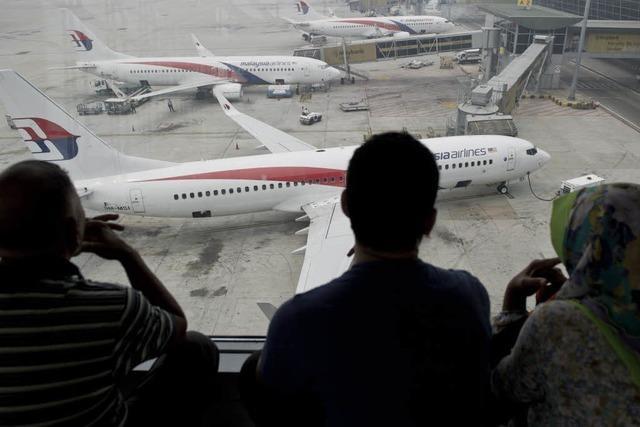 Fassungslosigkeit in Malaysia nach zweitem Flugunglück