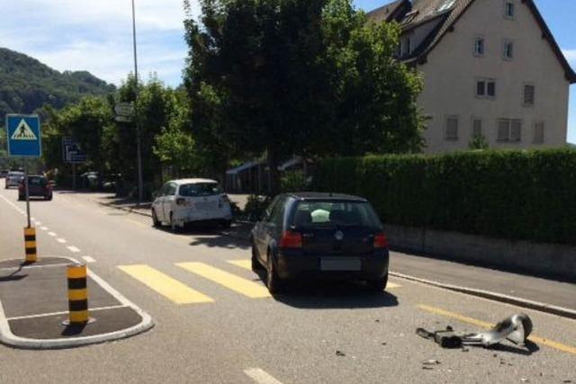 In Stein/Schweiz: Fußgängerin auf Zebrastreifen schwer verletzt