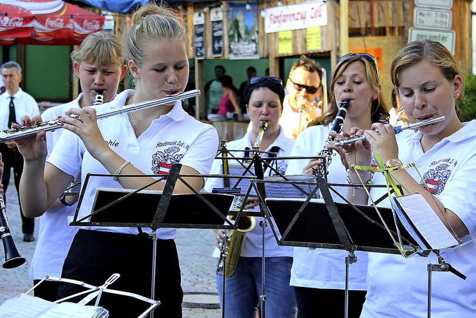 Die Stadtmusikerinnen von Zell (Foto: Anja Bertsch)
