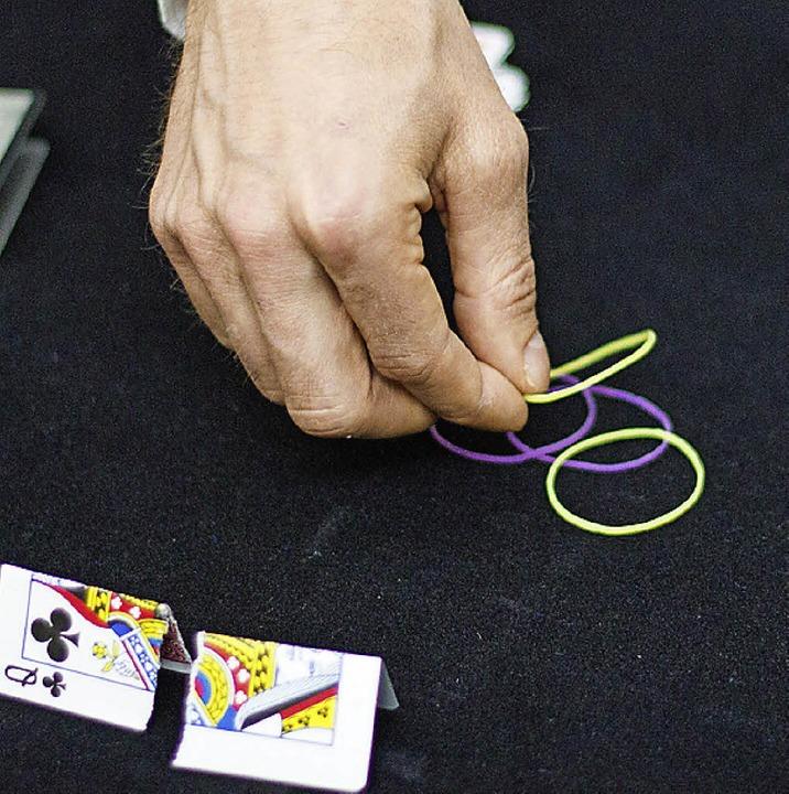 Willi Auerbach, Zauberer  | Foto: Daniel Laufer