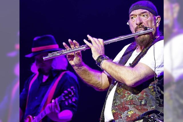 Jethro Tull's Ian Anderson im Kurpark Bad Krozingen