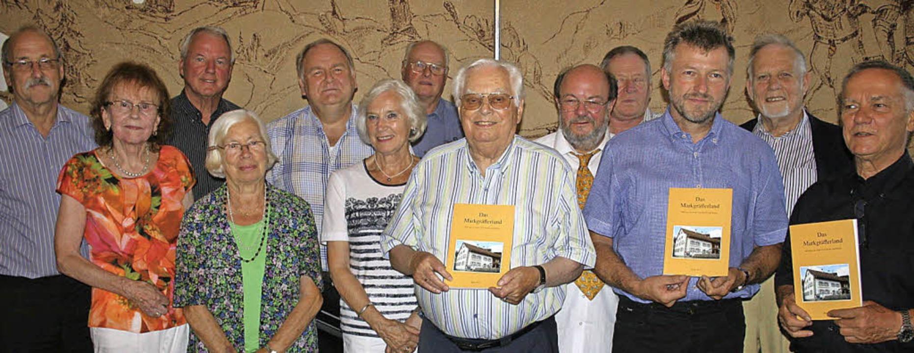 Autoren und Initiatoren (von links): H...ring und Hans Viardot. Foto: Ines Bode  | Foto: Ines Bode