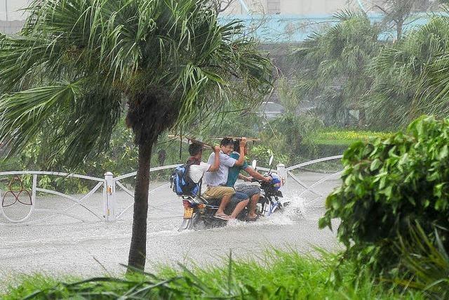 Taifun Rammasun fordert hundert Todesopfer