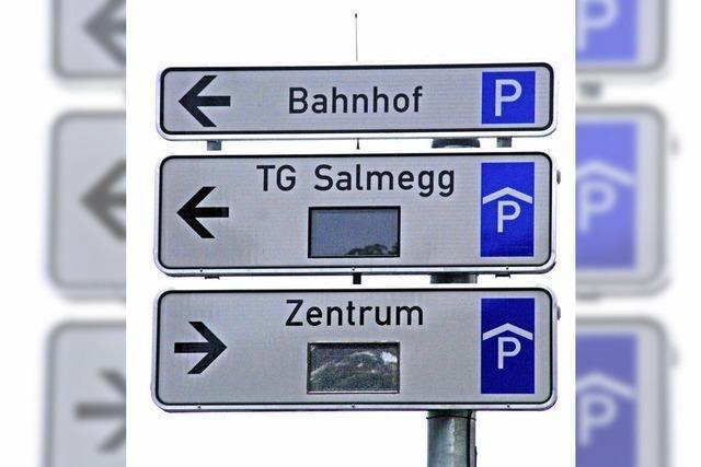 Elektronik zum Parken