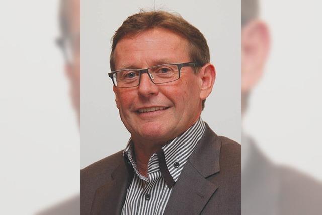 Sieben Stimmen für Ortsvorsteher Norbert Bühler