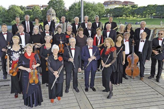 Das Freiburger Senioren Salonorchester spielt in Hinterzarten