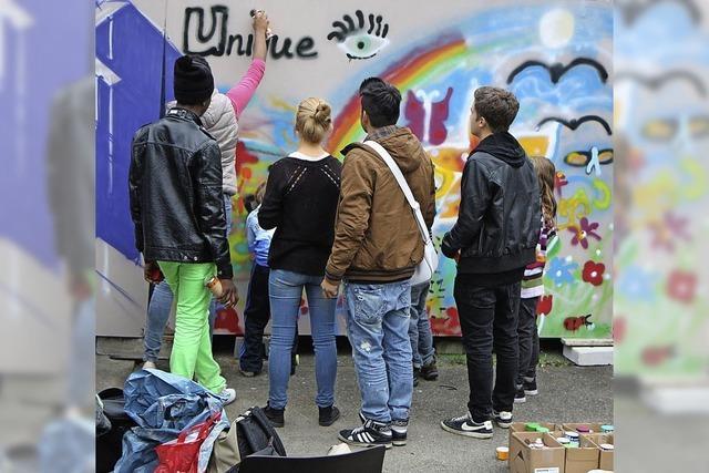 Poetry Slam, Konzerte, Bilder: Der zweite Jugendkunstparkour im E-Werk und Kubus³