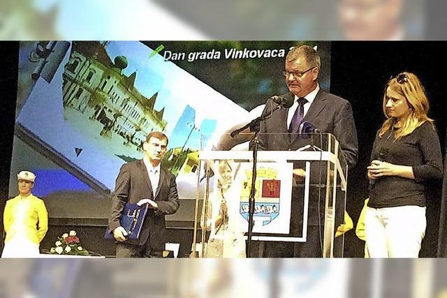 Hohe Auszeichnung für Matthias Guderjan