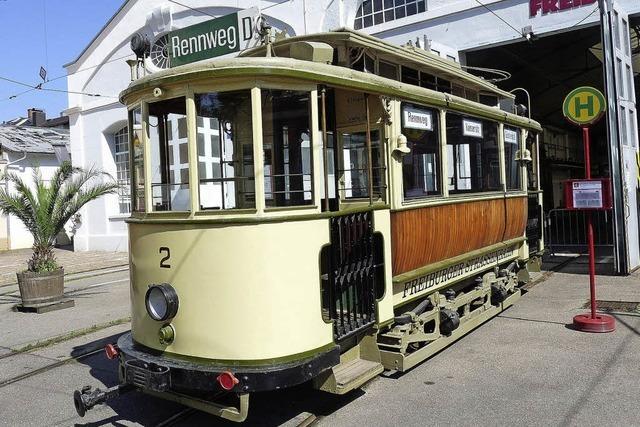 Freunde der Freiburger Straßenbahn bieten Fahrten mit Dampfeisenbahn an