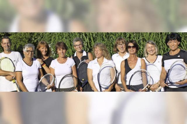 Meisterhafte Tennisdamen