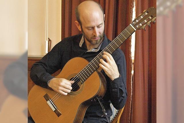 Gitarrenmusik der anmutigen Art