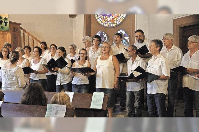Kirchenchor auf musikalischer Reise