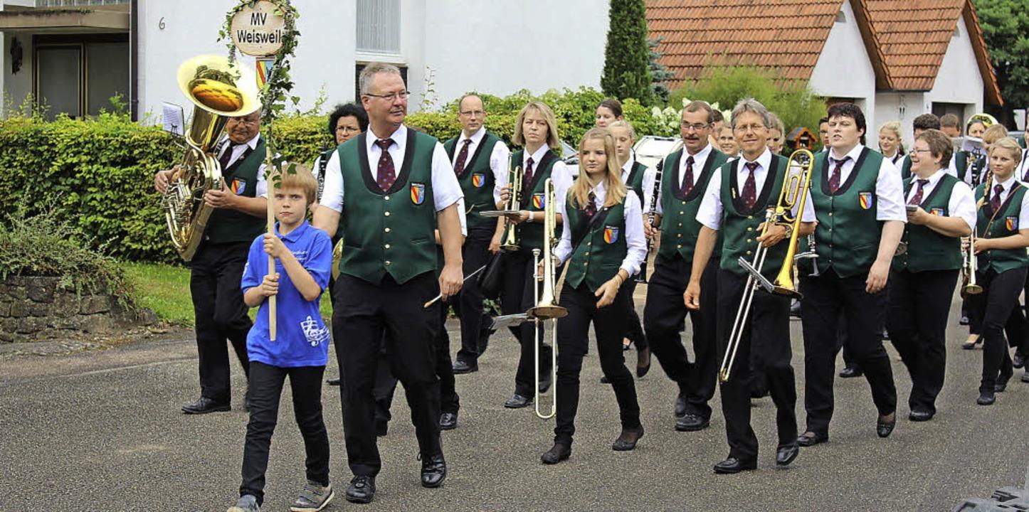 Der Festzug markierte den Höhepunkt der Jubiläumsfeierlichkeiten.  | Foto: Privat