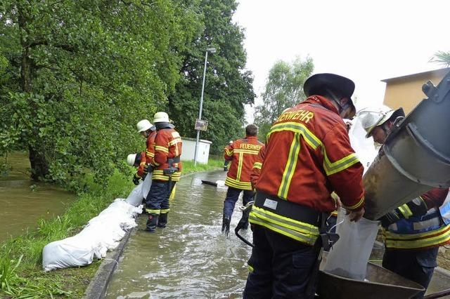 In knapp drei Tagen 216 Liter Regen pro Quadratmeter