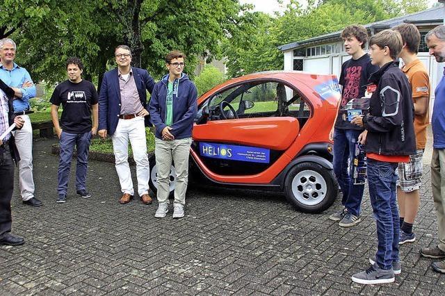 An der Heimschule wird künftig ohne Benzin gefahren