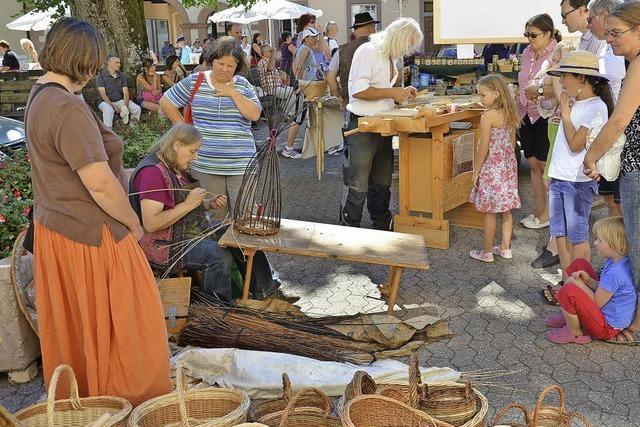 Historischer Markttag im Klosterhof