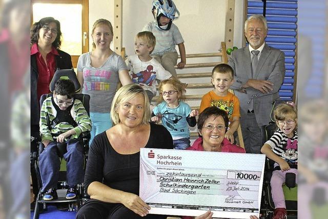 10 000 Euro für Kindergarten
