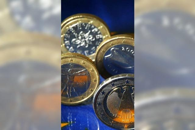 Sparer schenken Banken Euro