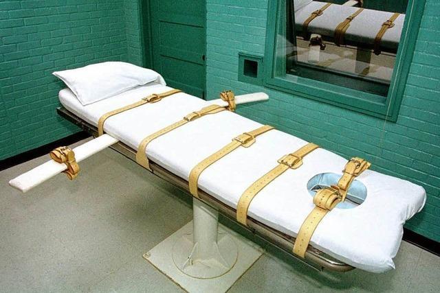 Panne bei Hinrichtung – Mann stirbt qualvoll in den USA