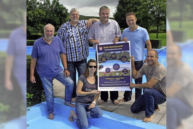 Ein Fest für alle Wasserratten
