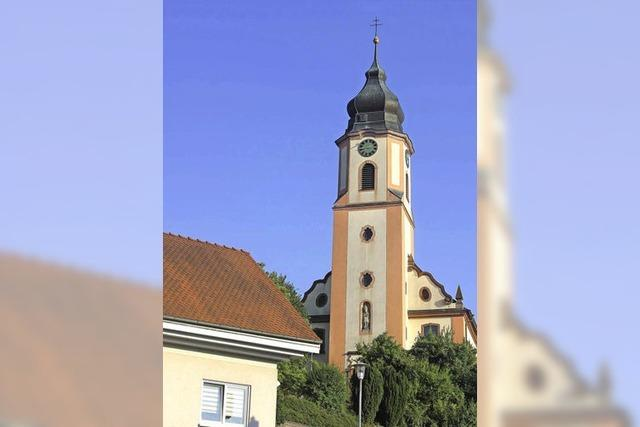 Altdorfer Kirchturm wird saniert