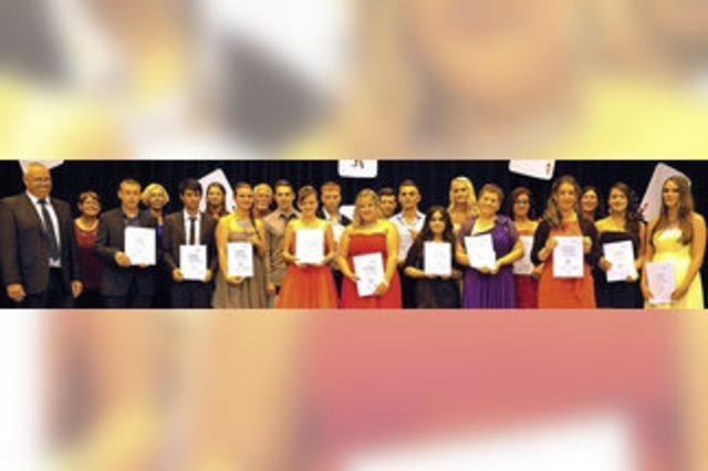 35 Werkrealschüler mit mittlerem Bildungsabschluss