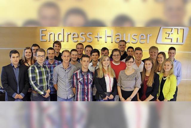28 junge Fachkräfte made in Maulburg