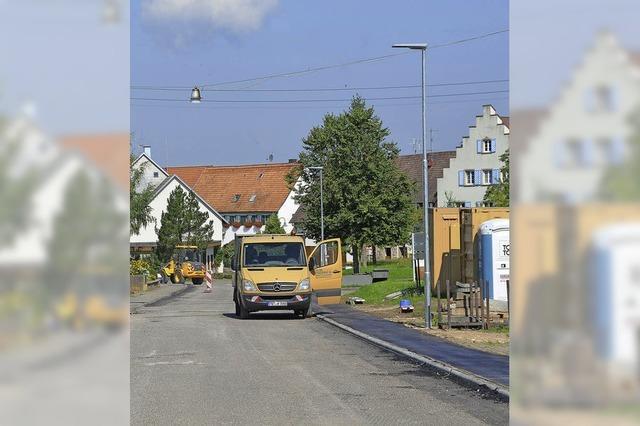 Straße weiterhin gesperrt
