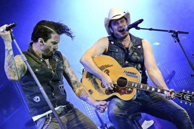 Die Cowboys sind in der Stadt