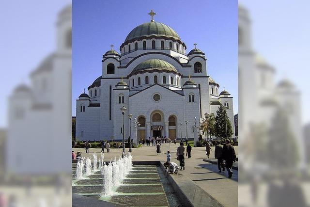 Auf dem Balkan wetteifern die Konfessionen um das größte Gotteshaus
