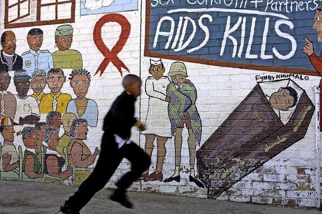 Südafrika nimmt im Kampf gegen Aids eine Vorreiterrolle ein