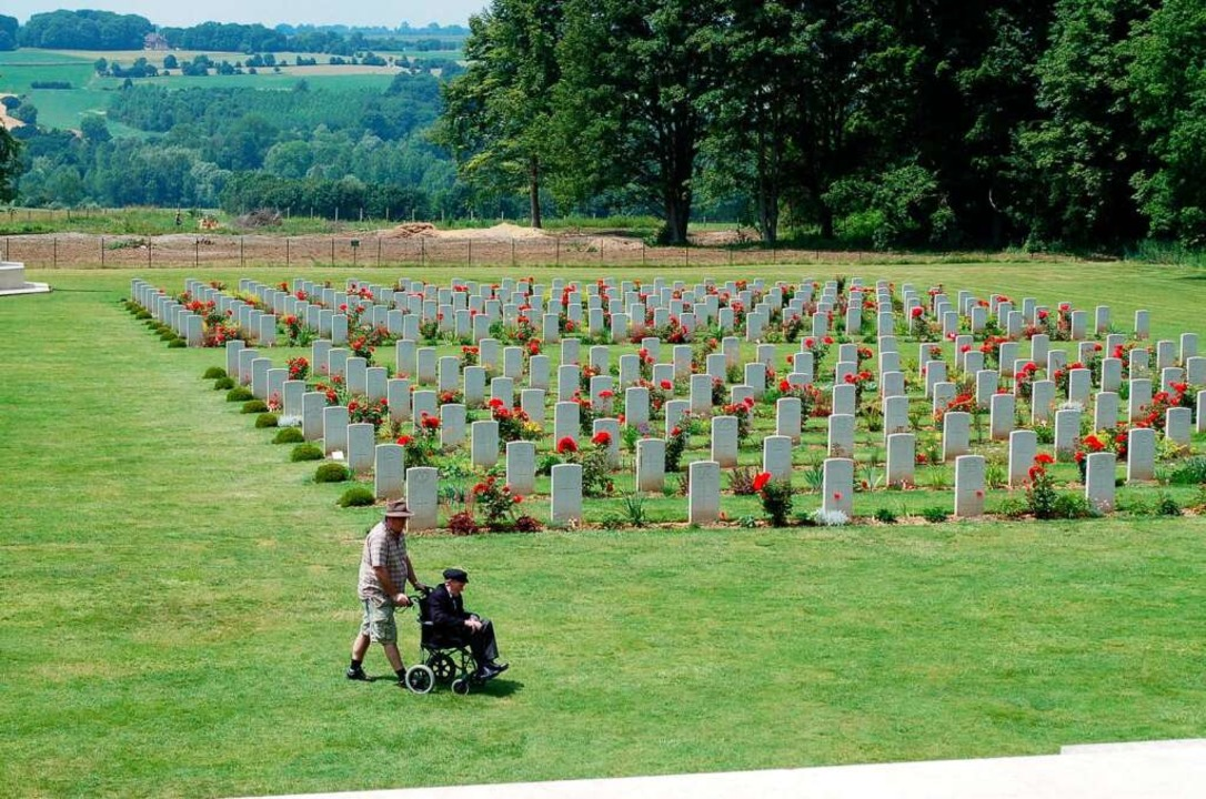 Der britische Friedhofsteil von Thiepval an der Somme  | Foto: amp