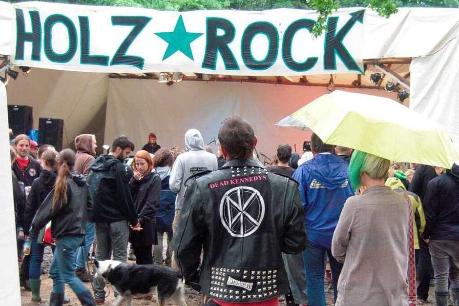 Das Holzrock Open-Air ist ein Kleinod gelebter Alternativkultur. (Foto: Anja Bertsch)