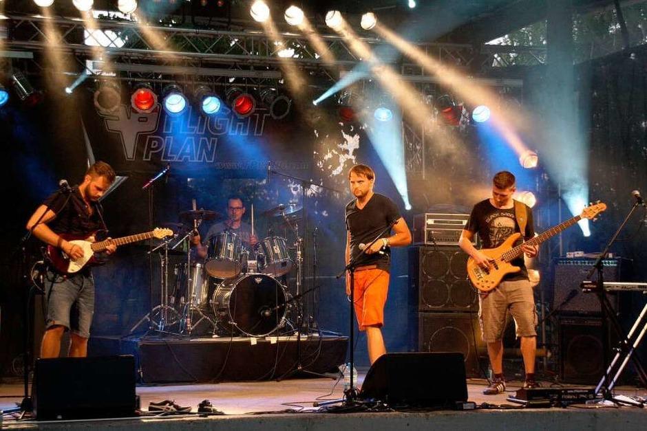 """Soliden Sound bot die Offenburger Band """"Flight-Plan"""" (Foto: Christiane Franz)"""