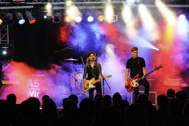 Festivalauftakt im Zeichen des Rock