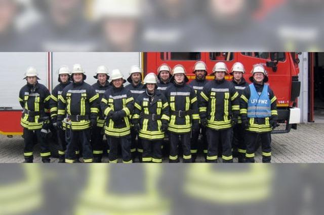 Brandbekämpfung in einer Scheune als Aufgabe