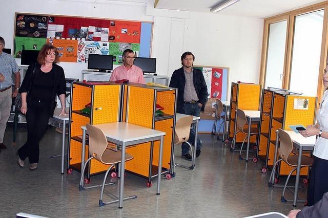 Flüsterkultur im Lernbüro: Einblick in die Gemeinschaftsschule