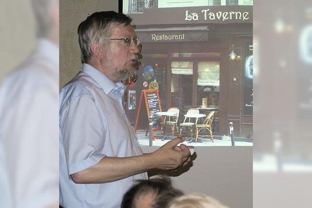 Zum Vortrag kommen auch Besucher aus Mulhouse
