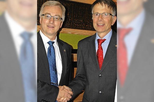 Erwin Drixler ist neuer Lions-Präsident