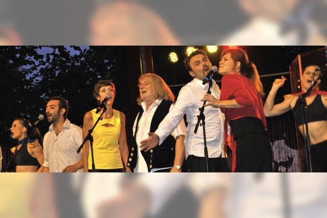 Das Siffer-Volksfest im Bürgerpark