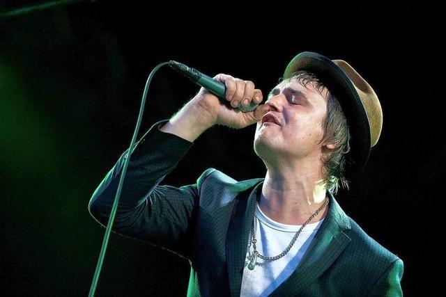 Babyshambles in Lörrach mit Pete Doherty