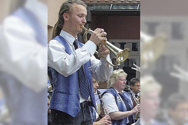 Stadtmusik führt eine alte Tradition fort