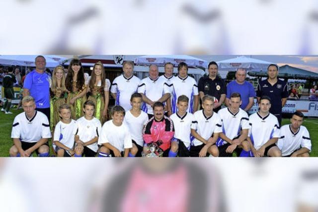 Team Grubenfeld verteidigt den Pokal