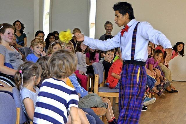 Pantomime sorgt für mehr Spaß als 1000 Worte