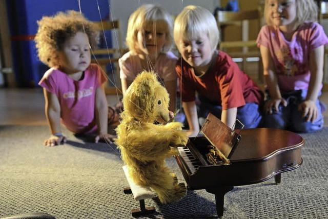 Ein bäriger Spaß im Kindergarten