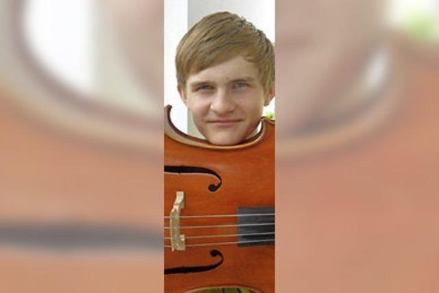 Michael Vogel: Ein junger Meister am Cello