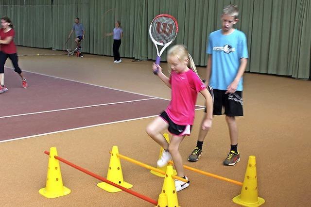 Tennisclub wirbt um den Nachwuchs
