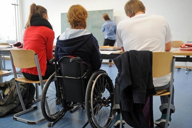 Inklusion: Behinderte Kinder bald in Regelschule